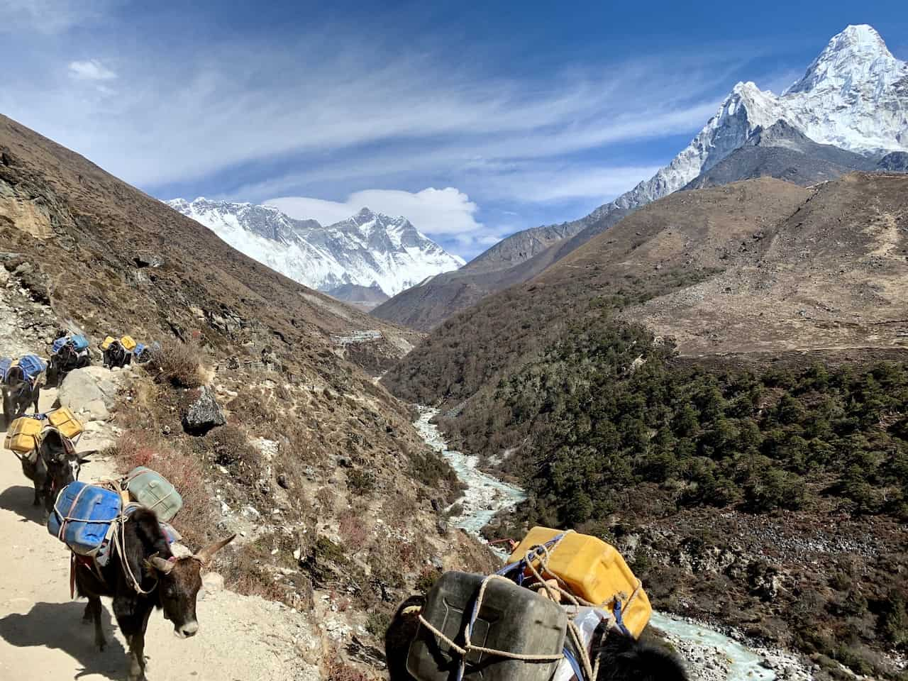 Tengboche Hiking Trail