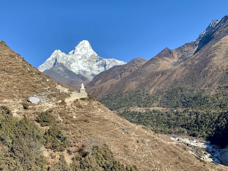 Tengboche to Dingboche Trekking