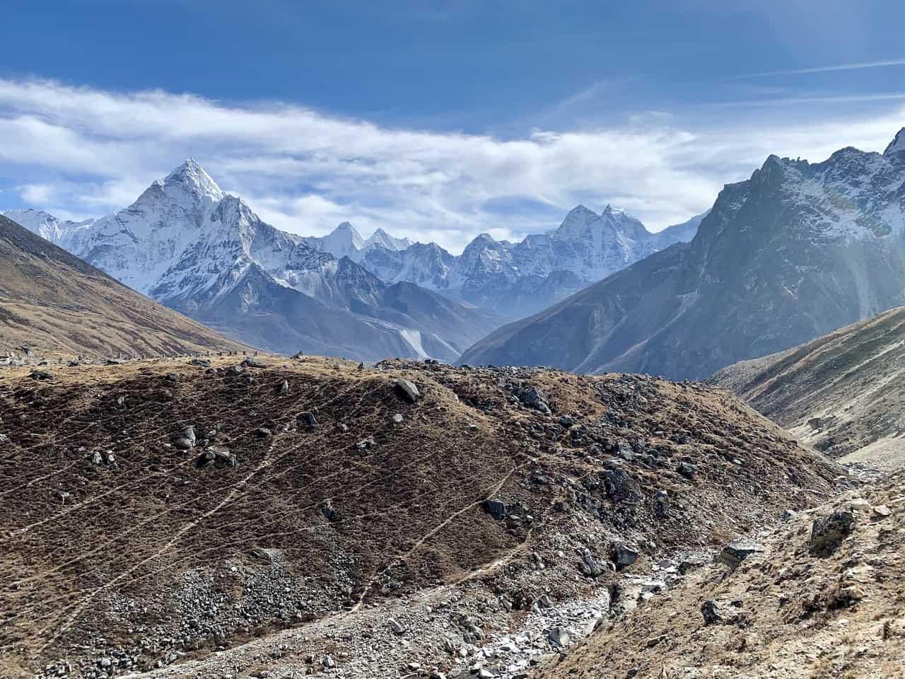 Thukla Pass Lobuche
