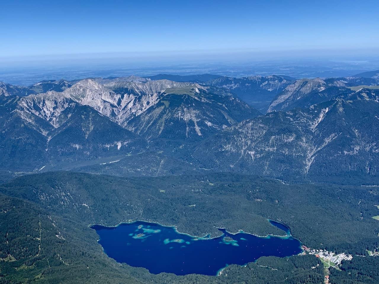 Zugspitze Eibsee