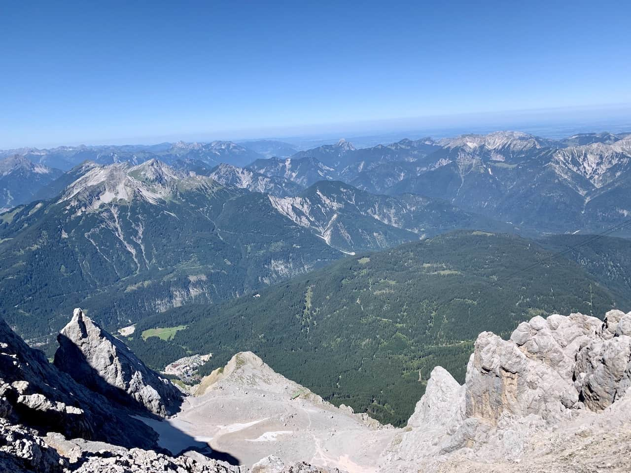 Zugspitze Hiking View