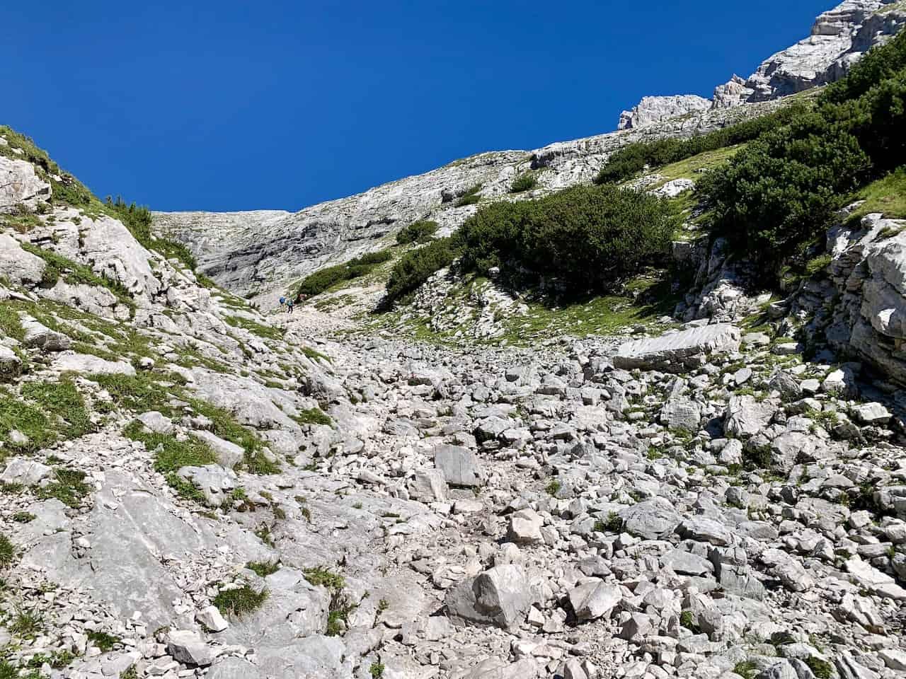 Zugspitze Rocky Terrain