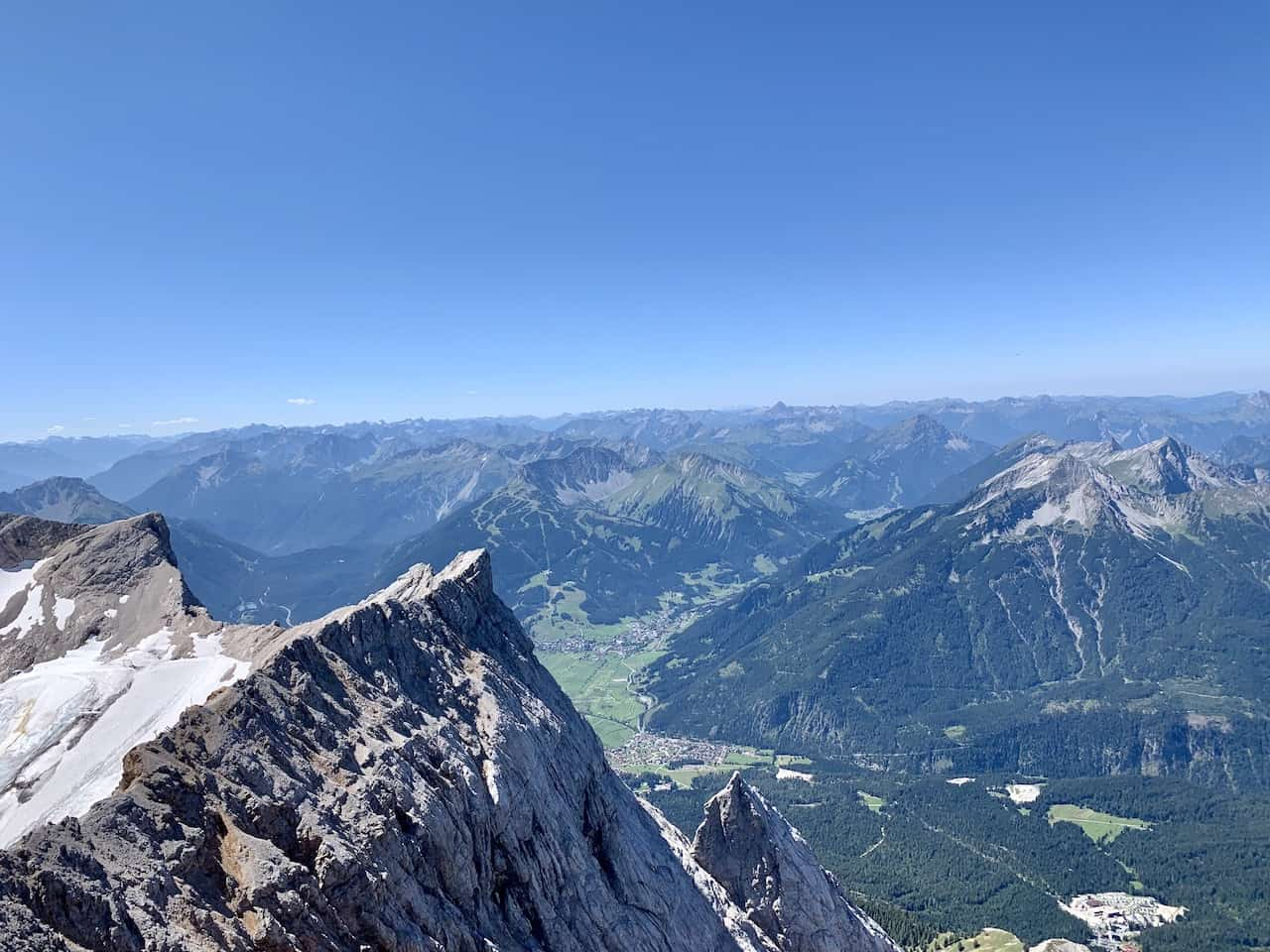 Zugspitze Summit Germany