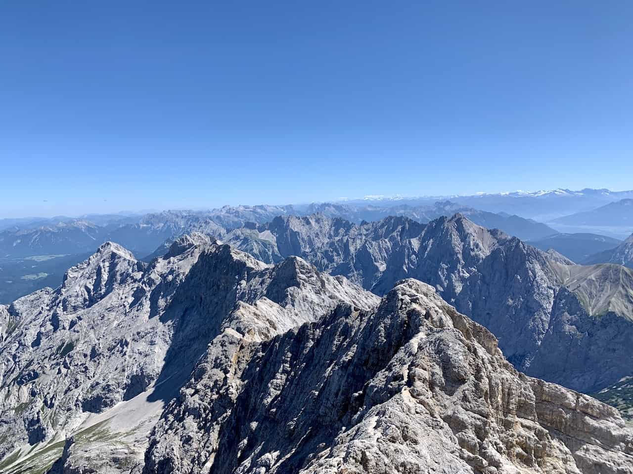 Zugspitze Summit View