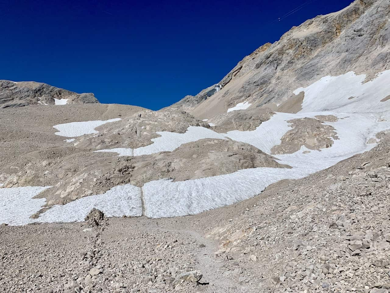 Zugspitze Trail Glacier