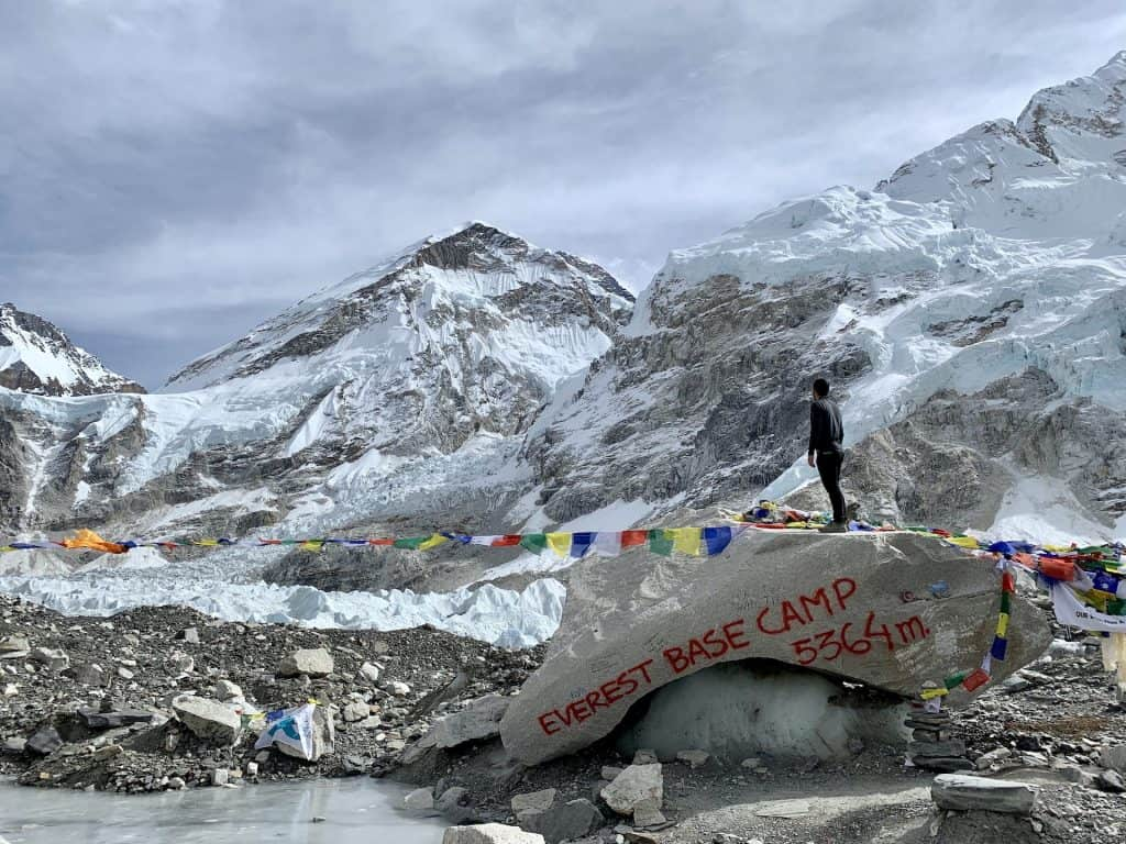Gorak Shep to Everest Base Camp