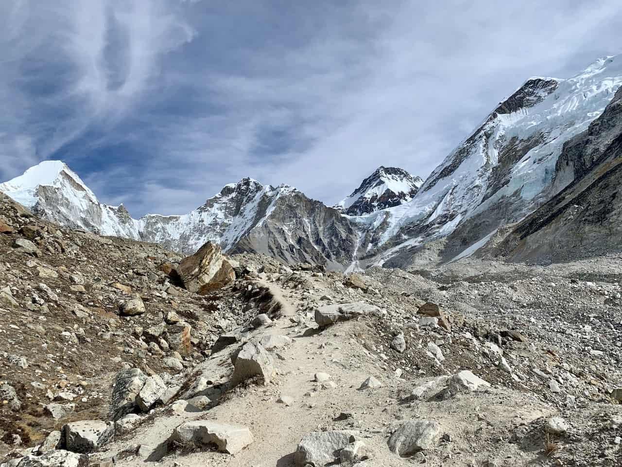 Gorak Shep to Everest Base Camp Hike
