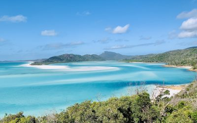 The STUNNING Hill Inlet Lookout   Whitehaven Beach Swirling Sands