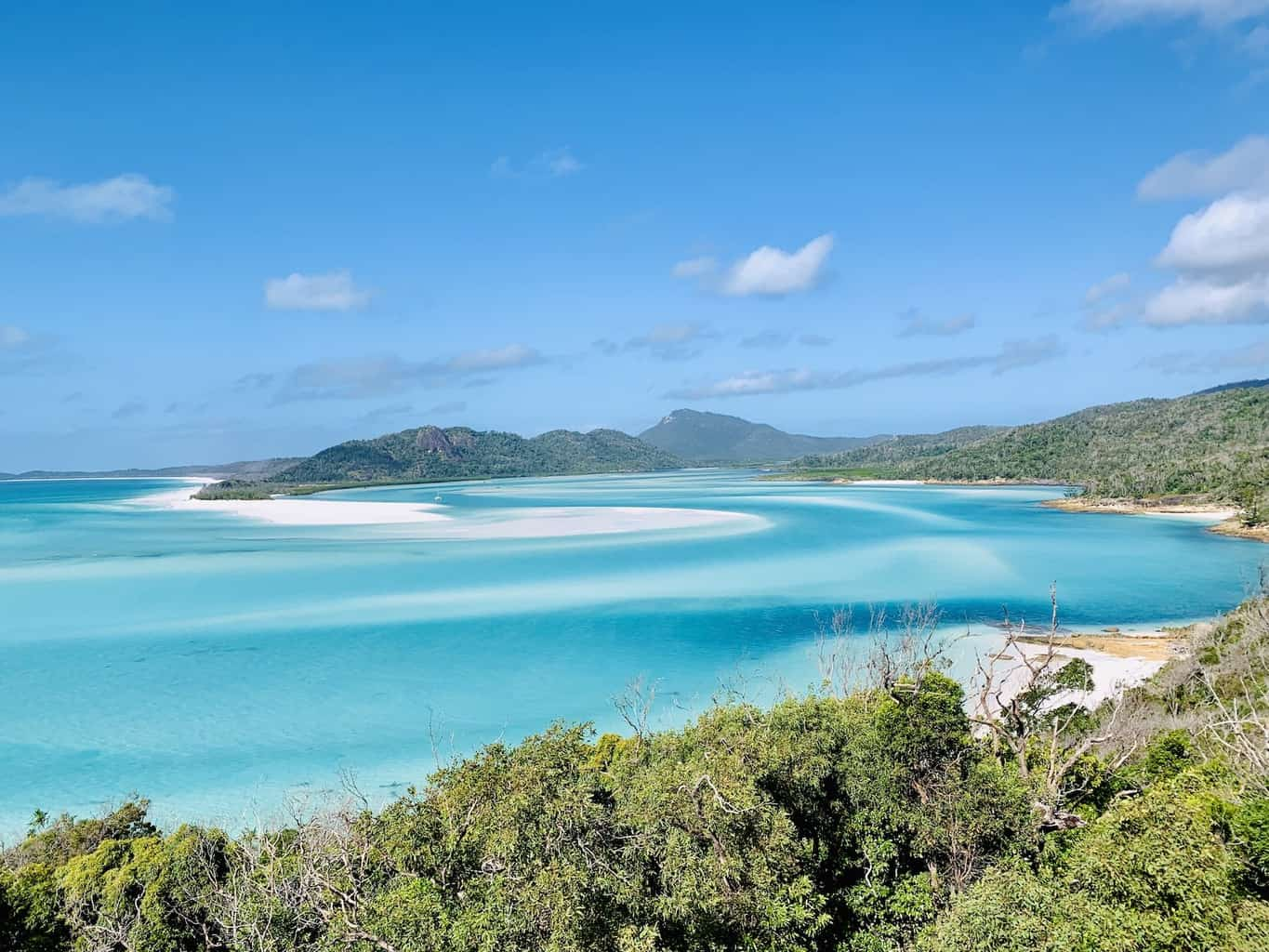 The STUNNING Hill Inlet Lookout | Whitehaven Beach Swirling Sands