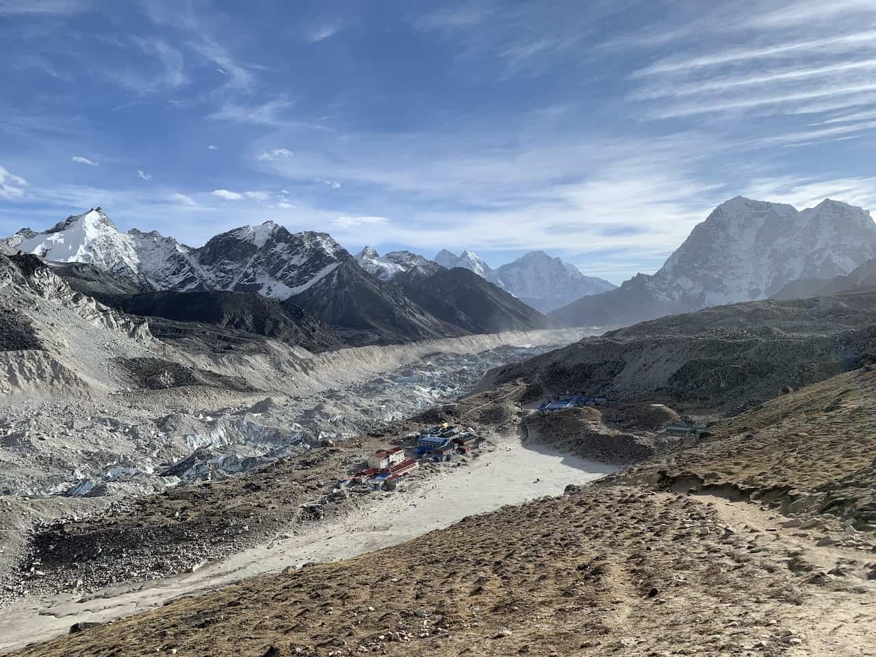 Kalapathar Khumbu Glacier