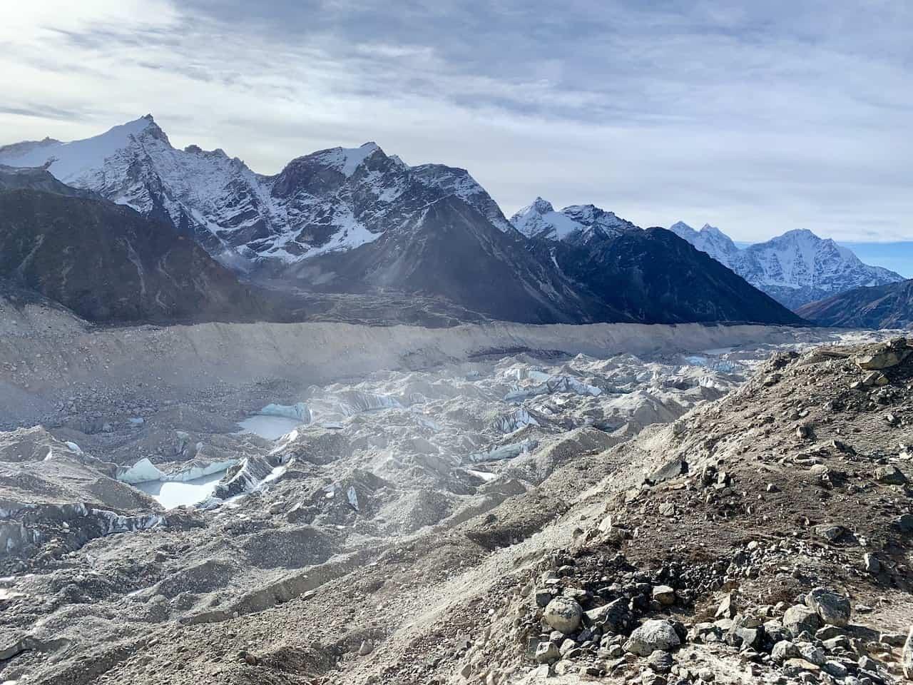 Khumbu Glacier Gorak Shep