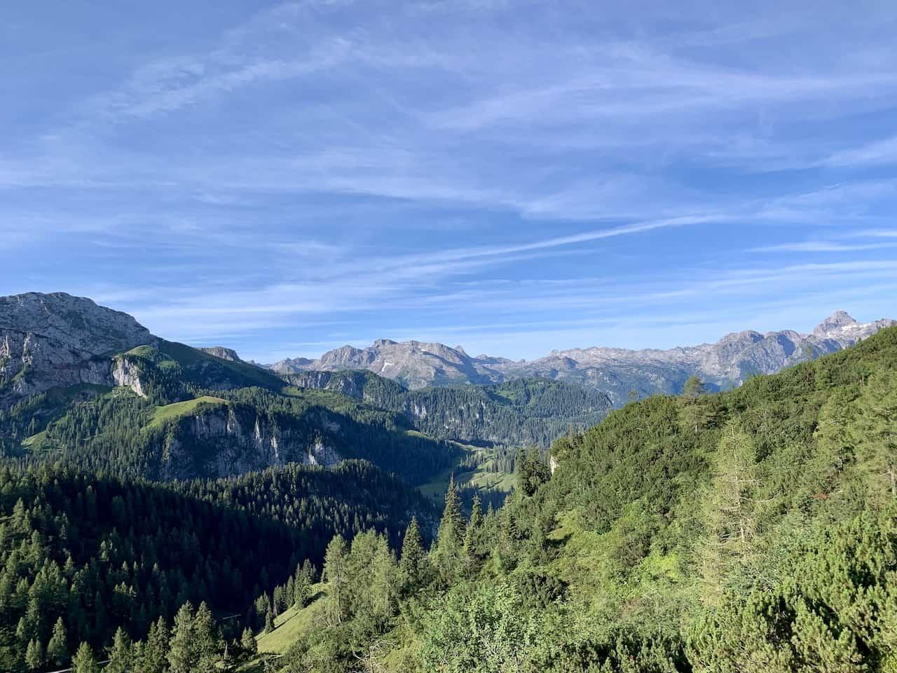 Kleine Reibn Hiking View