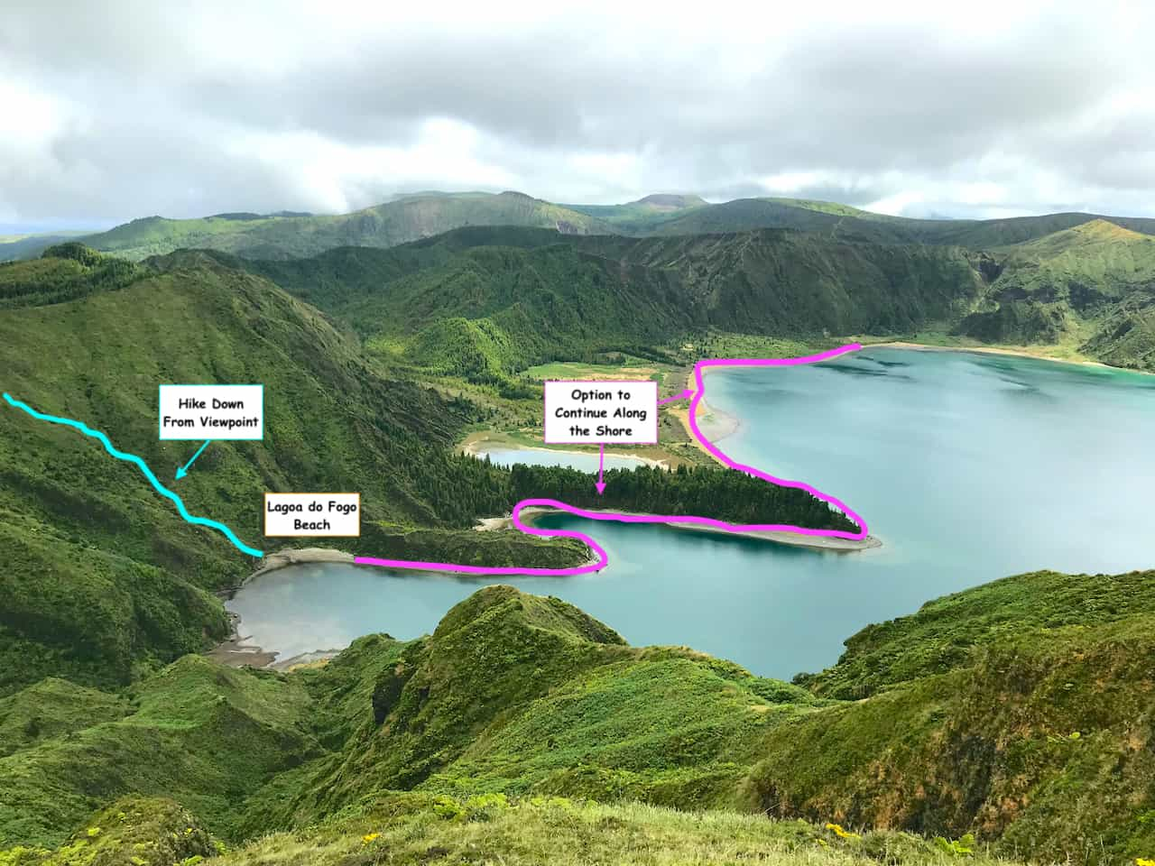 Lagoa do Fogo Short Hike