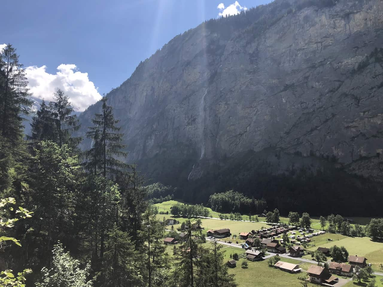 Lauterbrunnen Valley Greenery