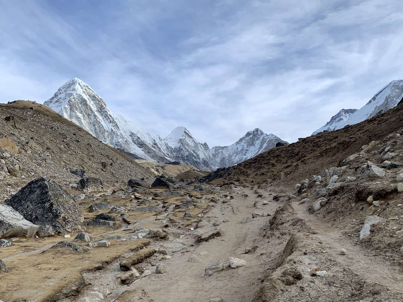 Lobuche to Gorak Shep Trail