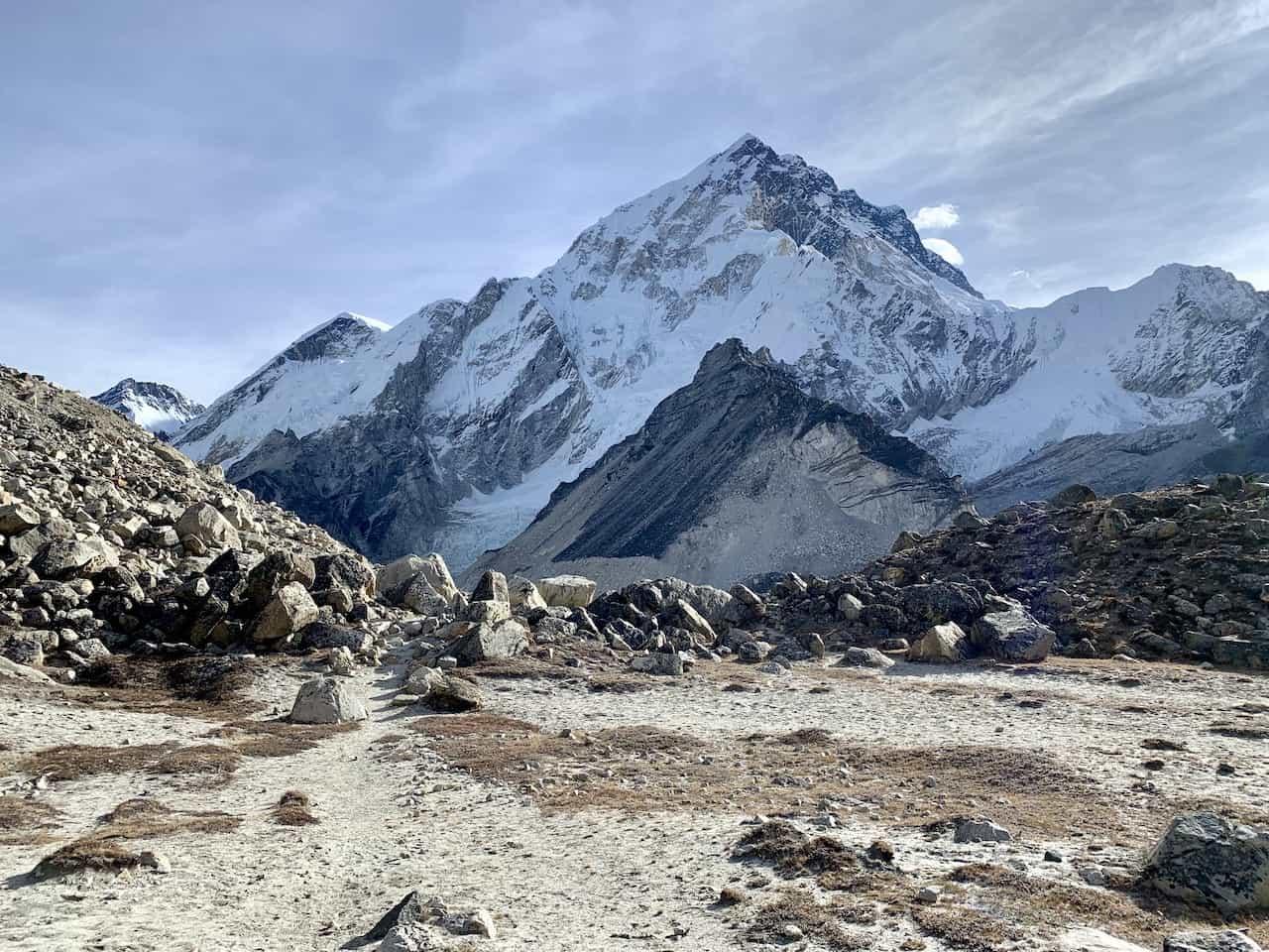 Lobuche to Gorak Shep Trekking