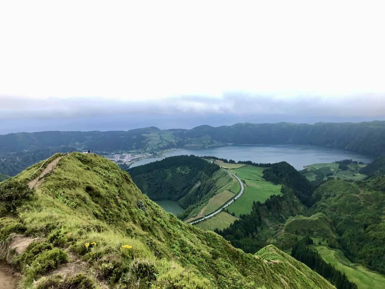 Miradouro da Boca do Inferno Sao Miguel Azores