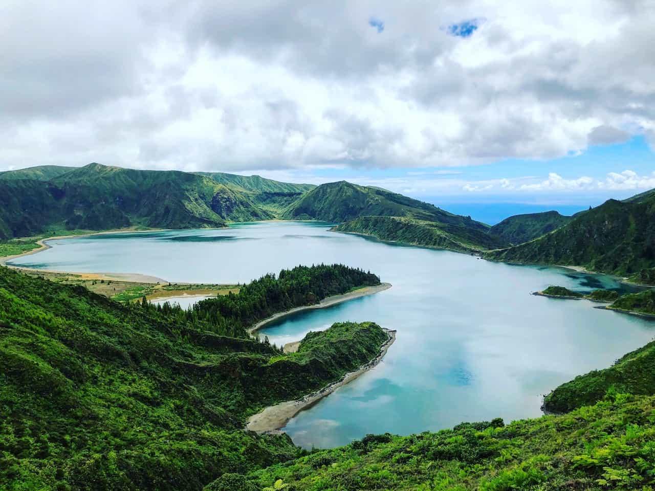 Miradouro da Lagoa do Fogo Azores