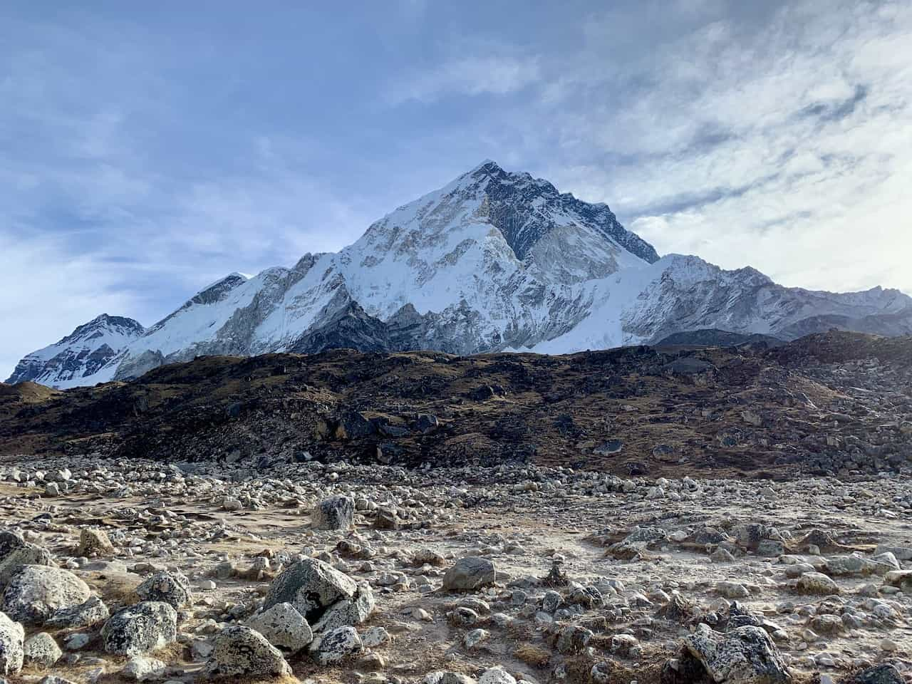 Nupste View Everest Base Camp
