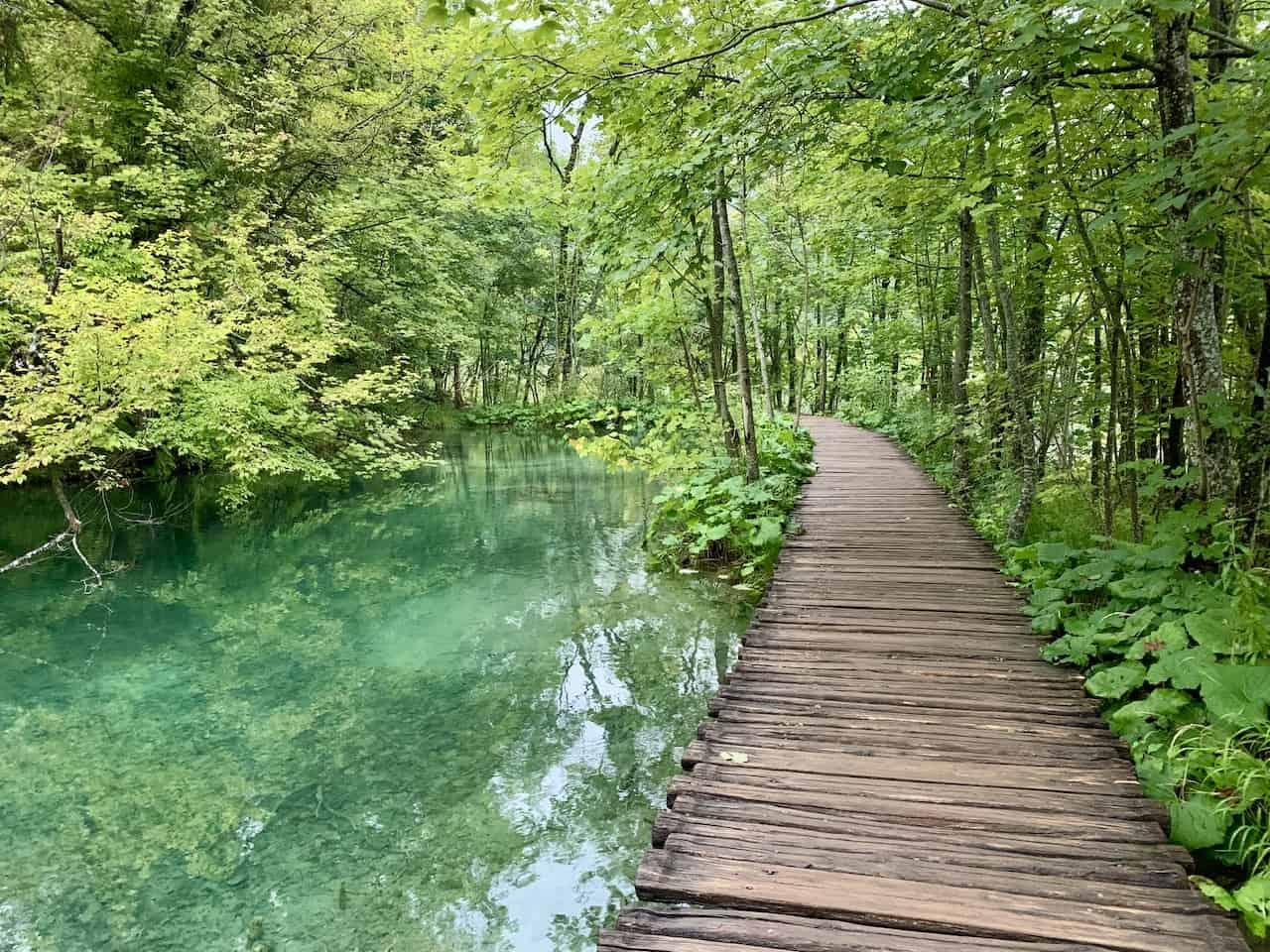 Plitvička Jezera Upper Lakes