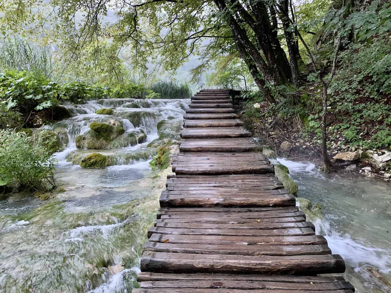 Plitvice Boardwalk Route