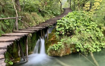 Plitvice Lakes National Park Map   Trails, Waterfalls, Lakes & More