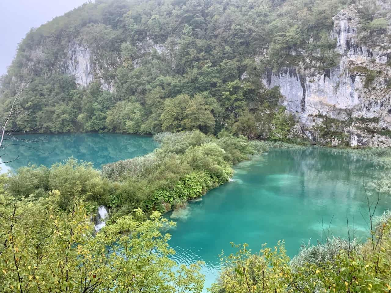 Plitvice Lakes Green Color