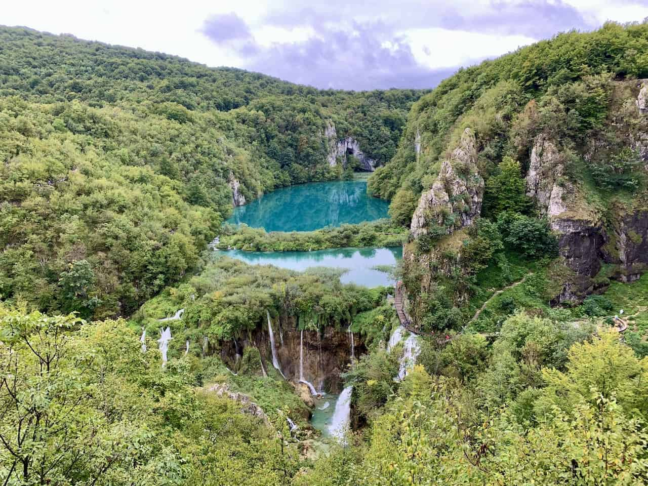 Plitvice Lakes Viewpoint