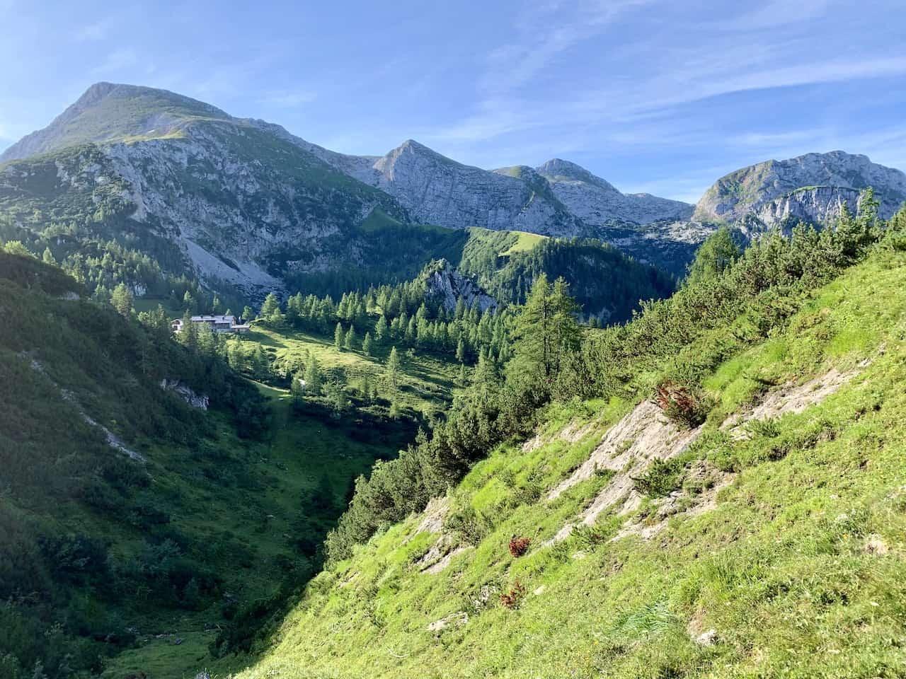 Schneibsteinhaus Hike