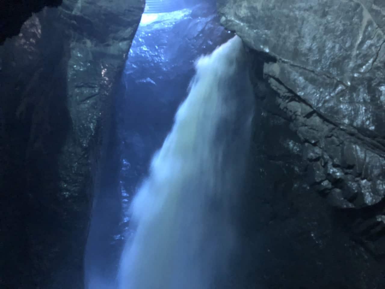 Trummelbach Falls Water