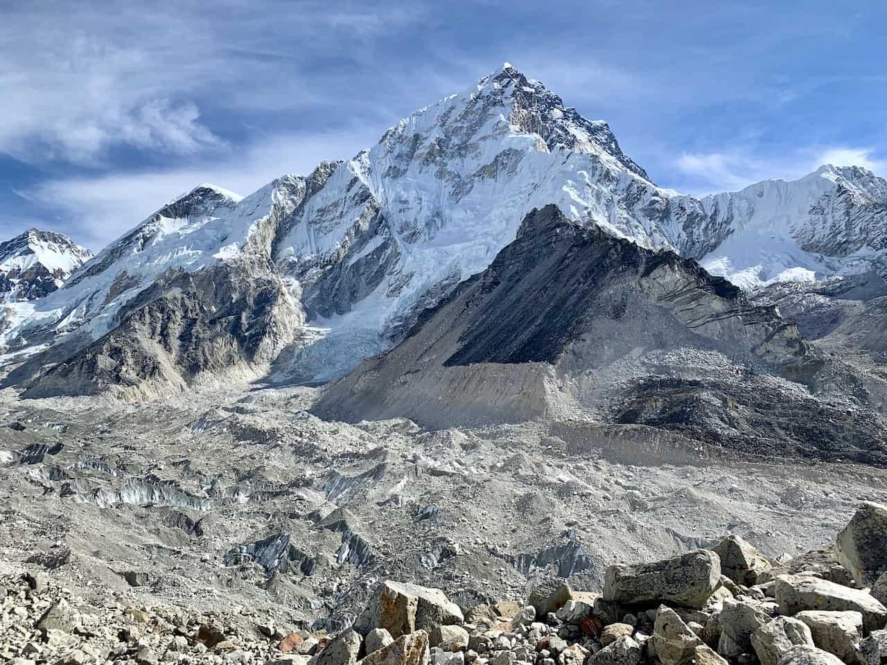 Gorak Shep to Pheriche Glacier