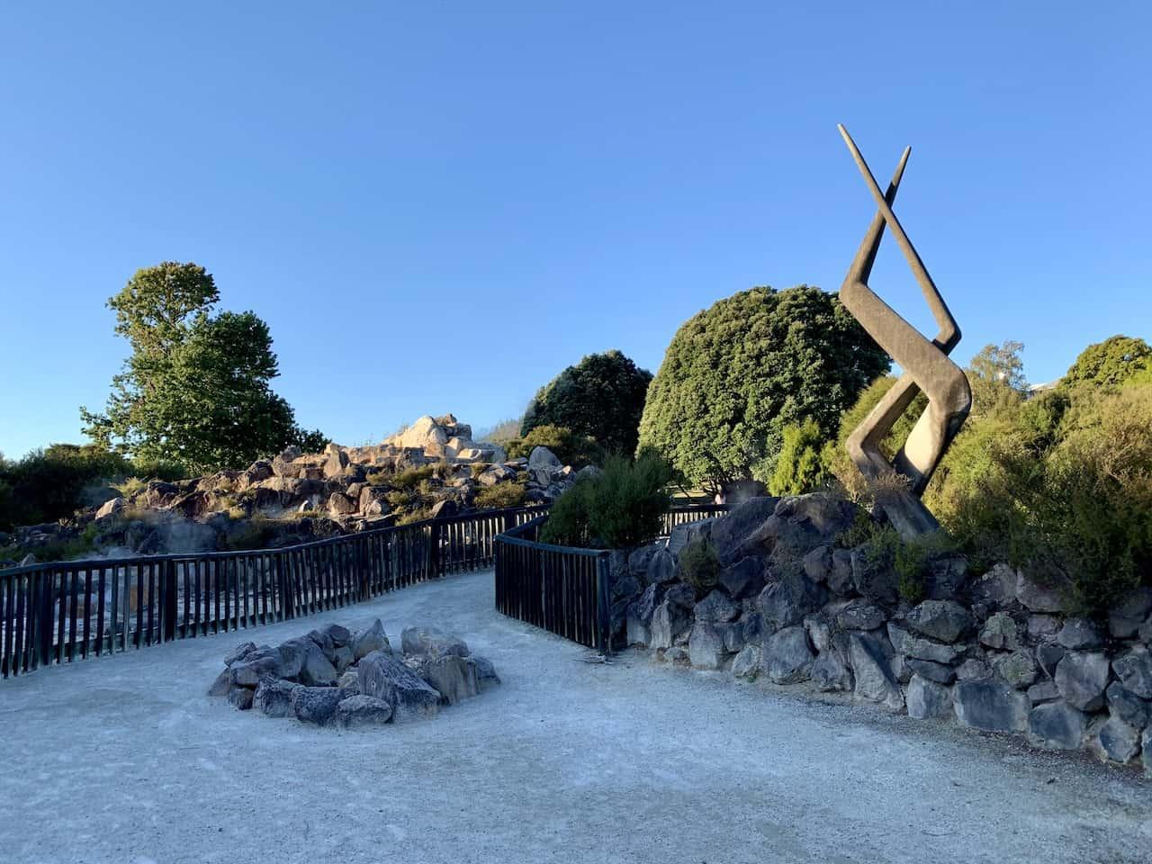 Kuirau Park History