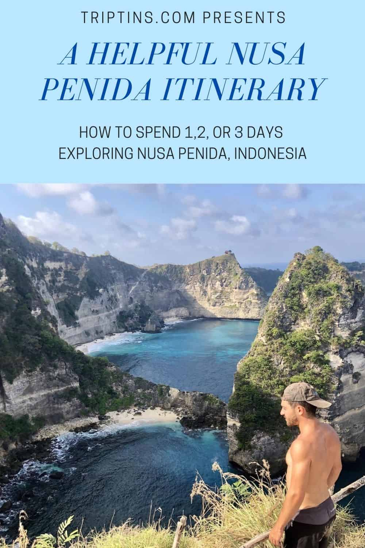 Nusa Penida Itinerary Guide