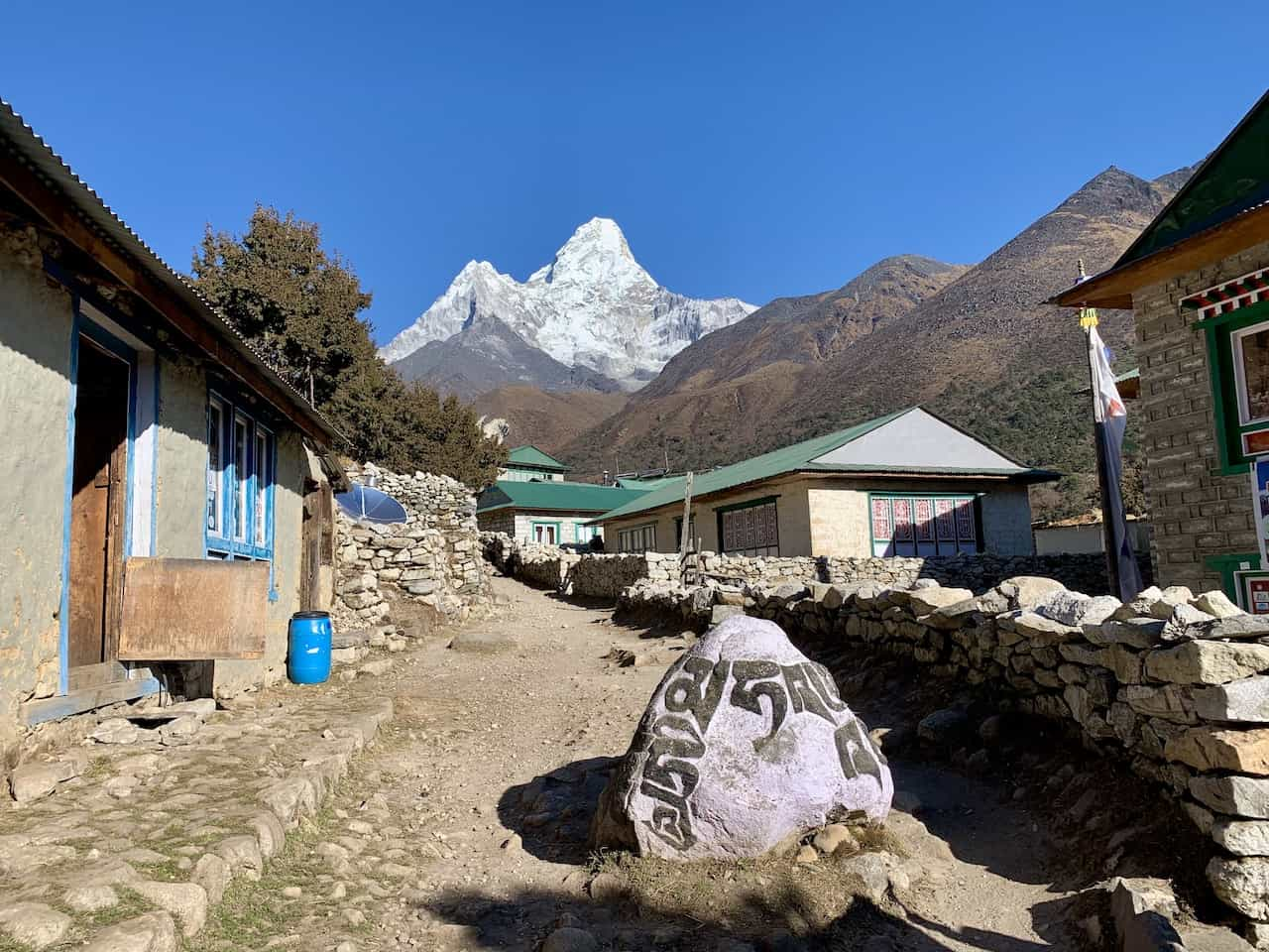 Pangboche Everest