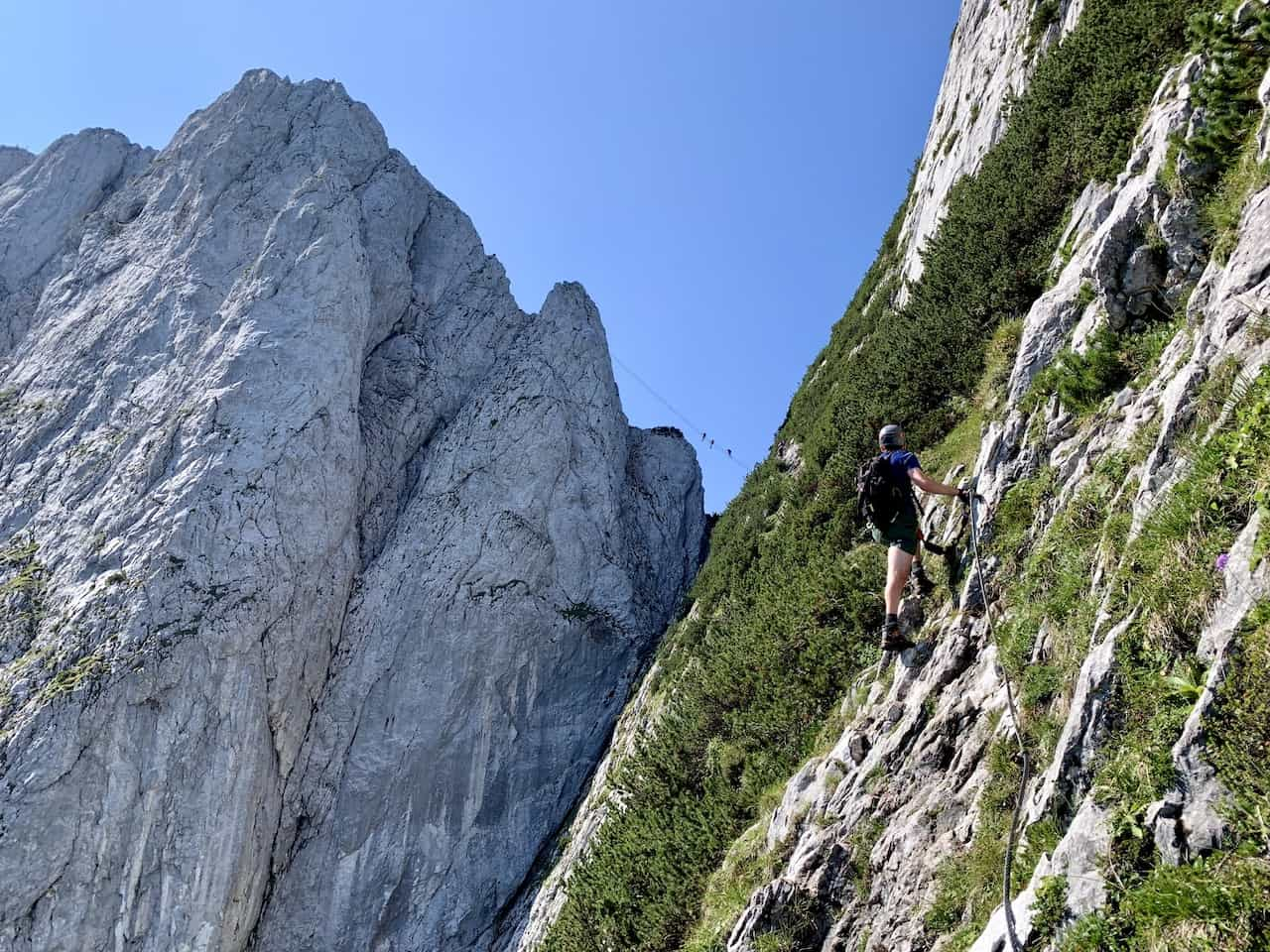 What is a Via Ferrata Route