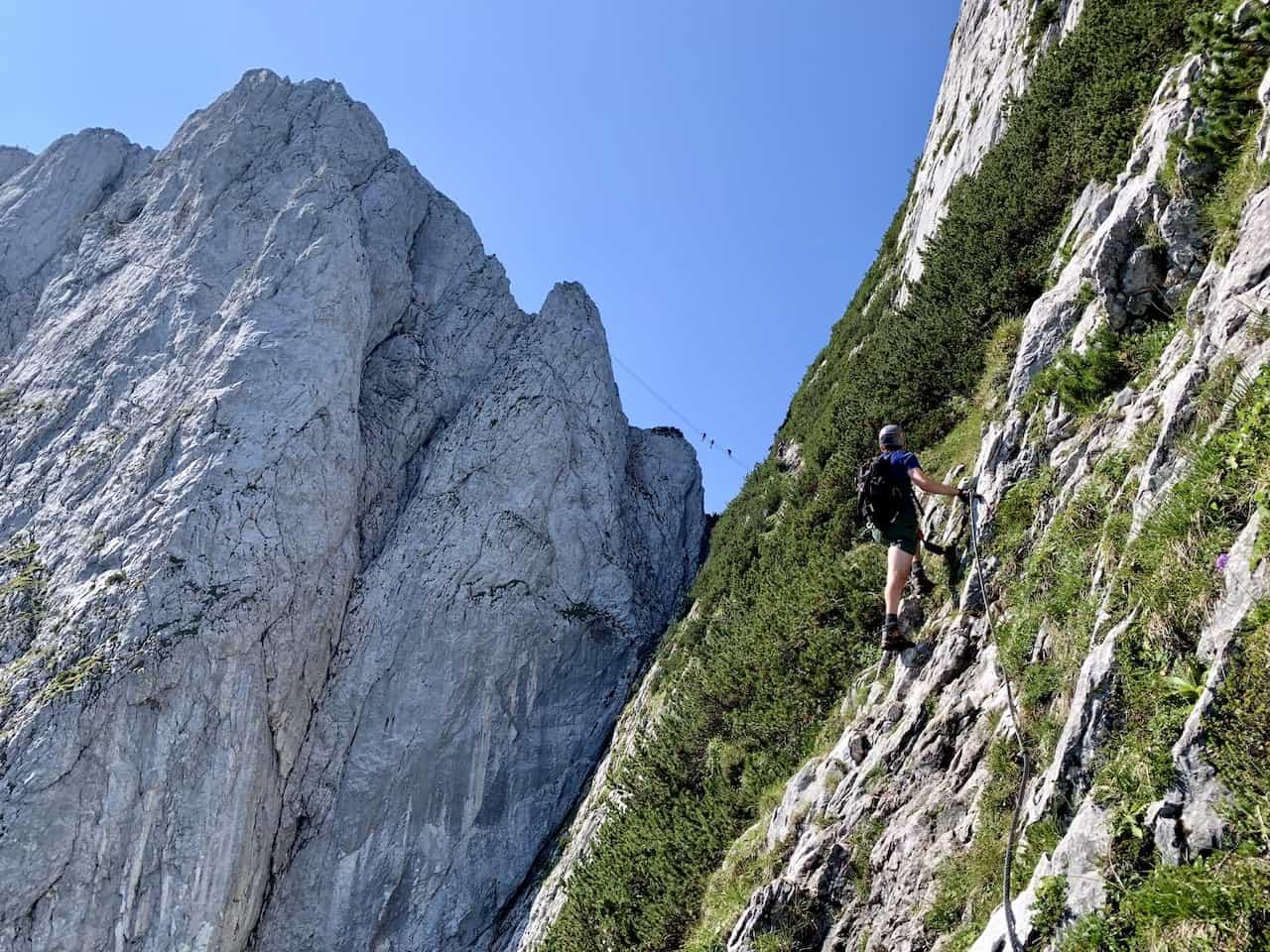 What is a Via Ferrata Route