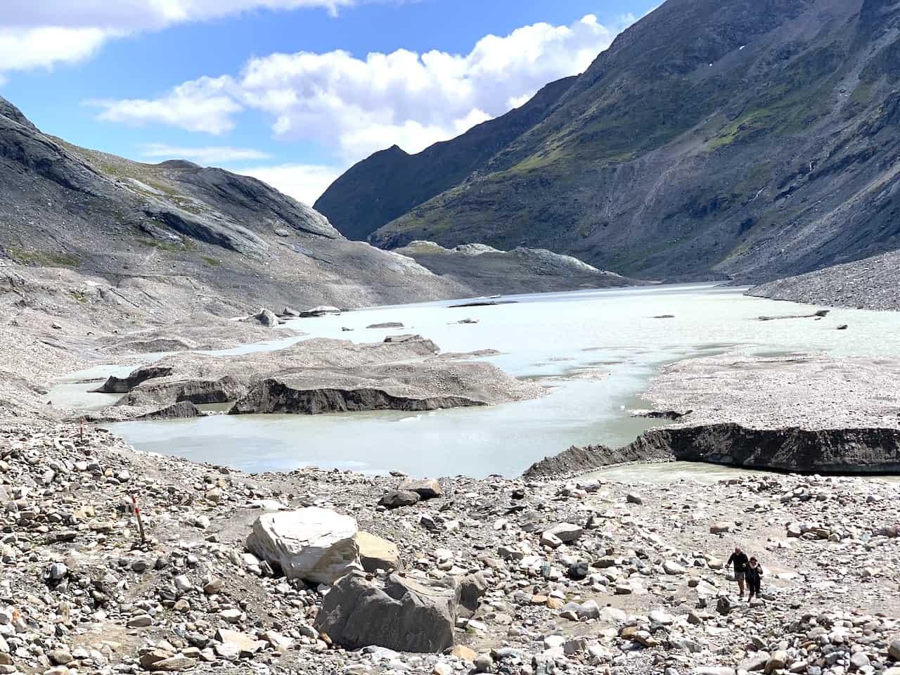 Austria Glacier Lake