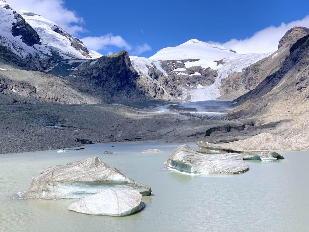 Glacier Lake Pasterze