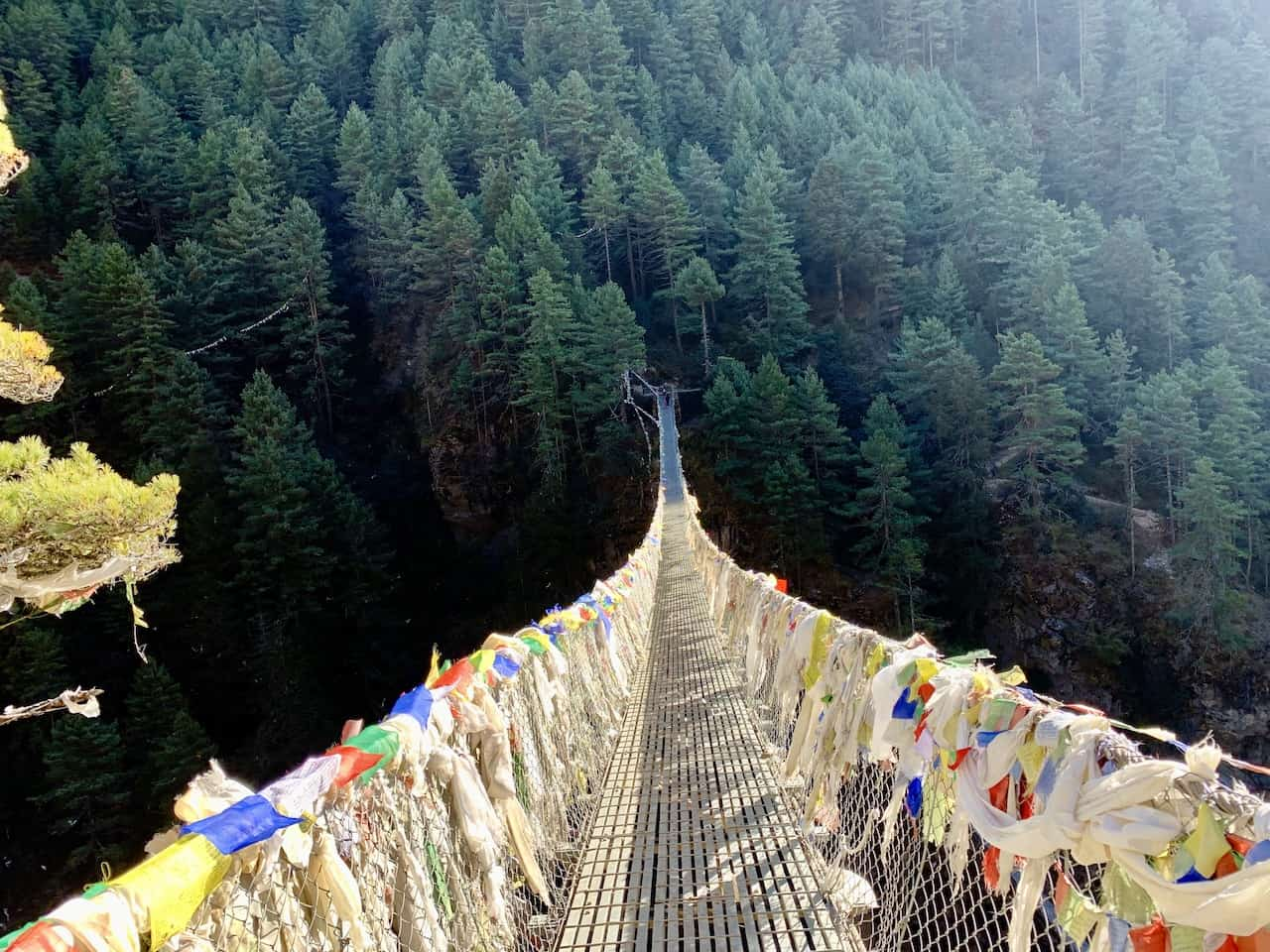 Namche Bazaar Suspension Bridge