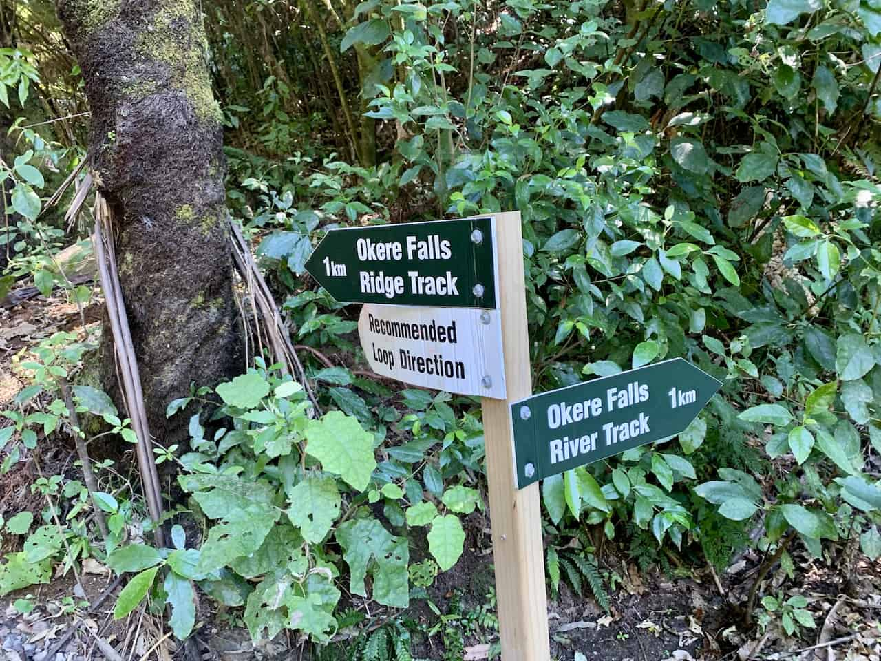 Okere Falls Signs