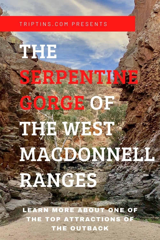 Serpentine Gorge West MacDonnell Ranges