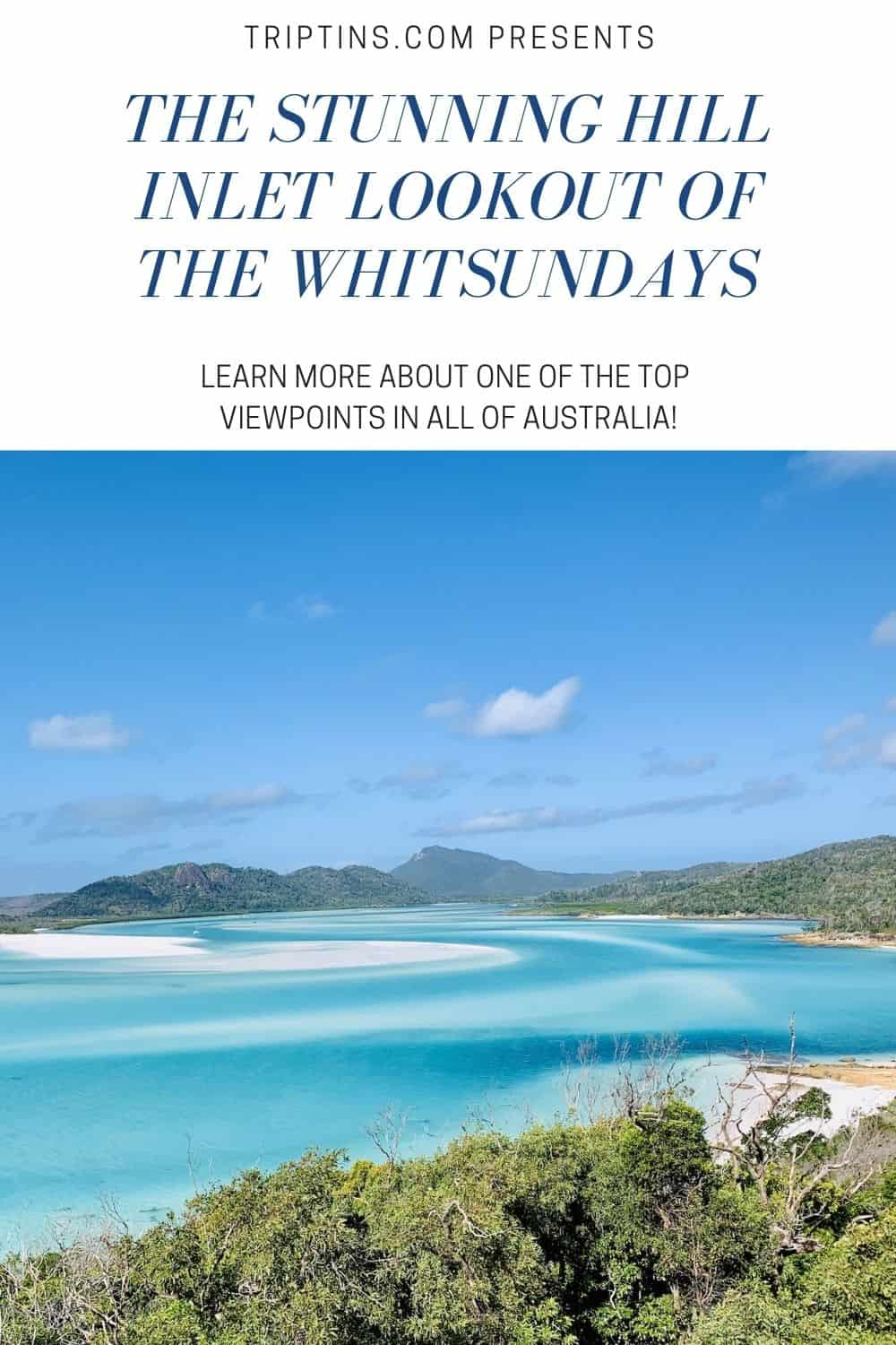 Hill Inlet Lookout Whitsundays Australia