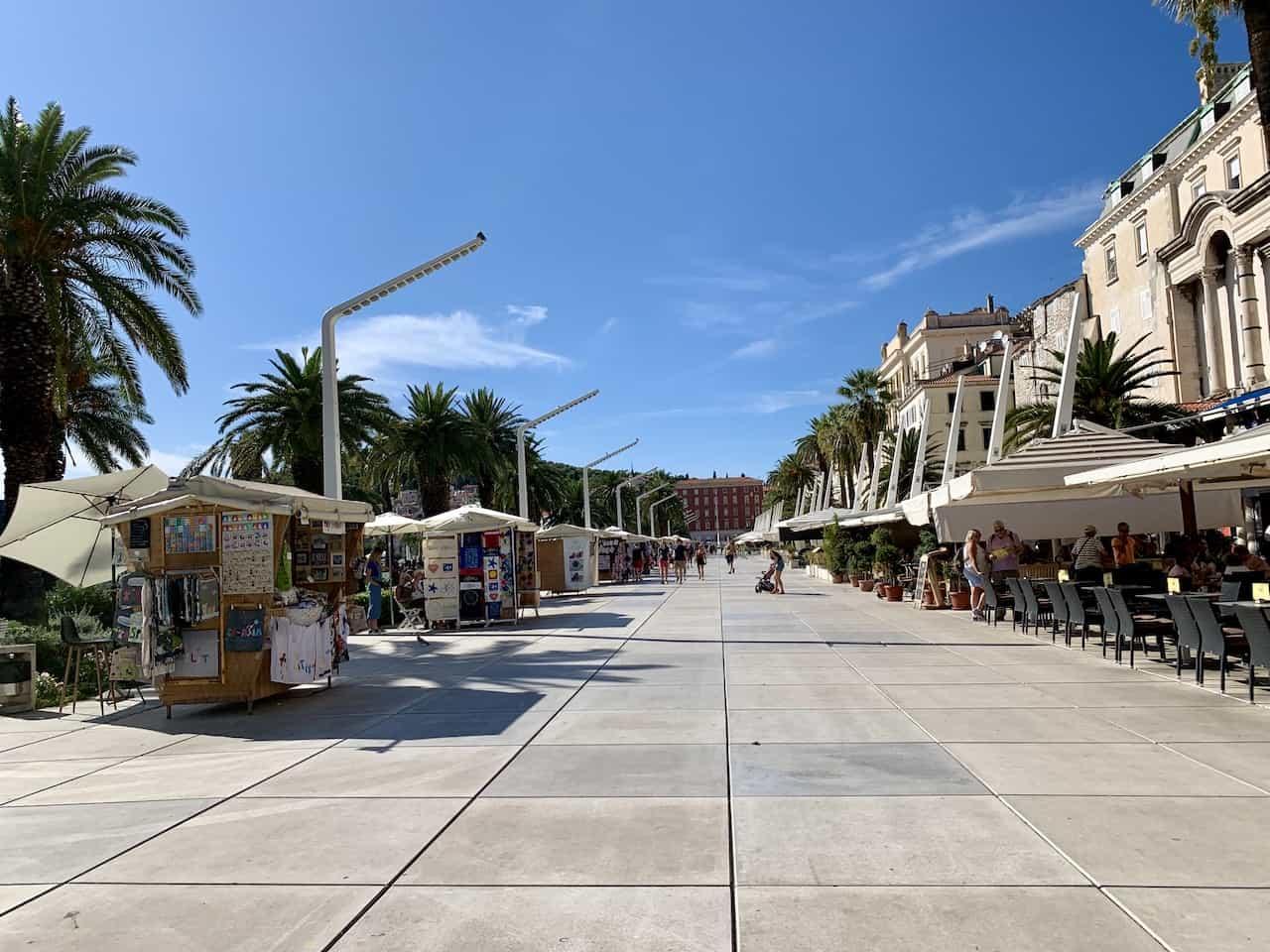 Riva Promenade Split