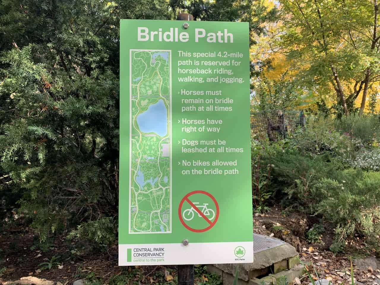 Bridle Path of Central Park
