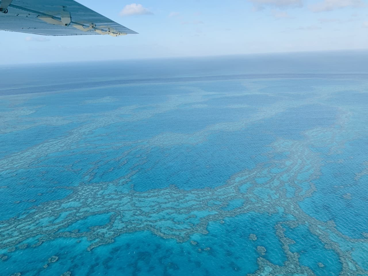 Great Barrier Reef Flying
