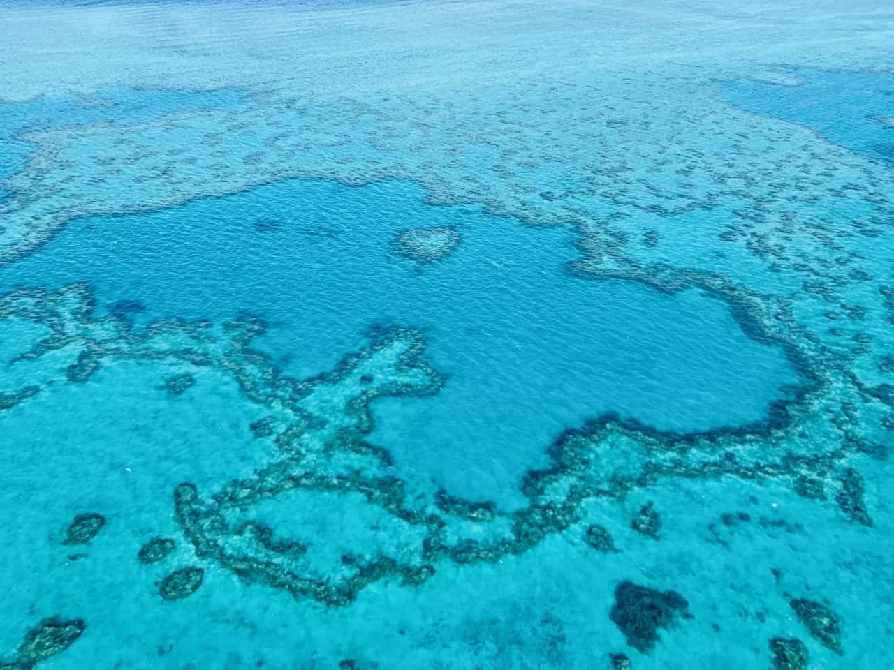 Heart Reef Flight