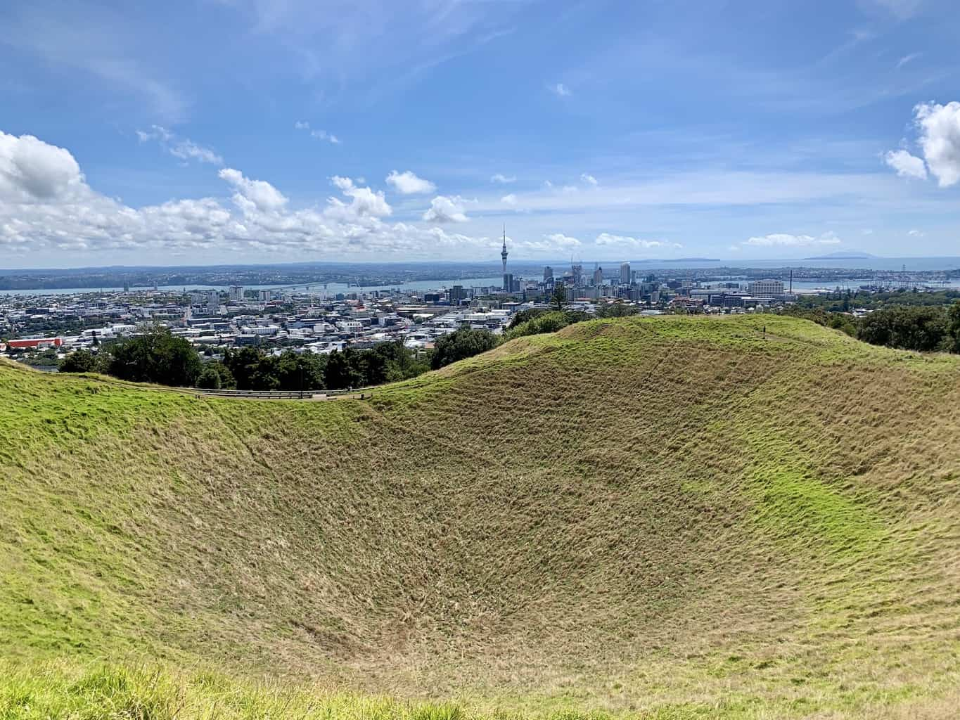 Mount Eden Crater | Climbing to the Maungawhau Summit