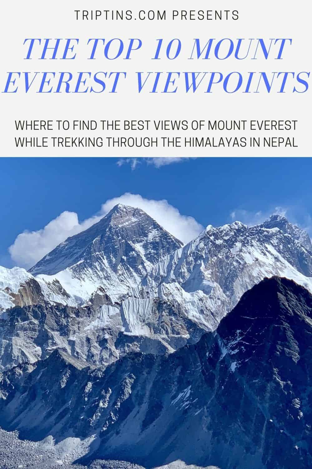 Mount Everest Viewpoints