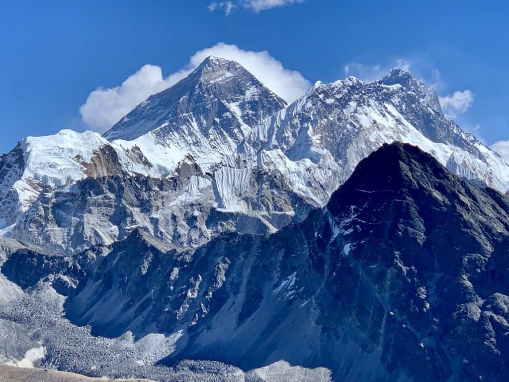 Views of Mount Everest