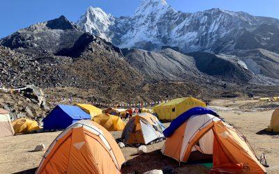 Hiking the Ama Dablam Base Camp Trek of Sagarmatha National Park